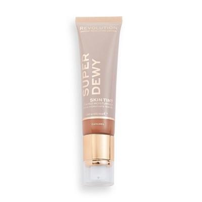 Makeup Revolution Superdewy Tinted Moisturizer - Caramel - 0.85 fl oz