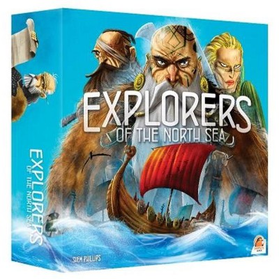 Explorers of the North Sea (3rd Edition) Board Game