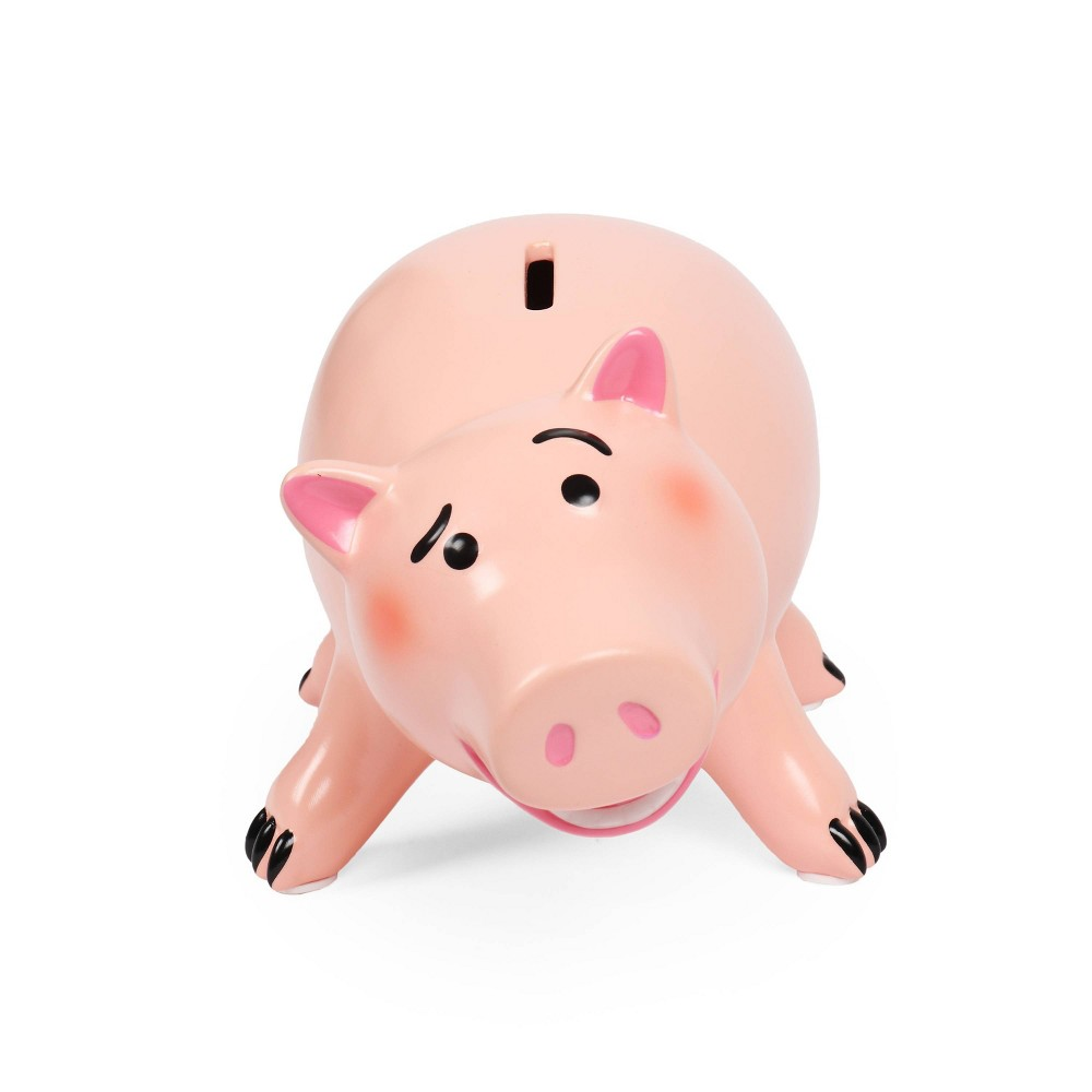 Image of Toy Story 4 Pig Ham Coin Bank Pink