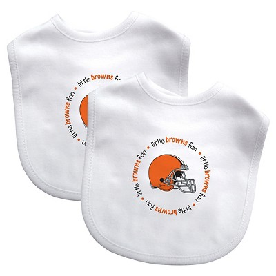 Cleveland Browns Baby Fanatic Bibs - 2 Pack