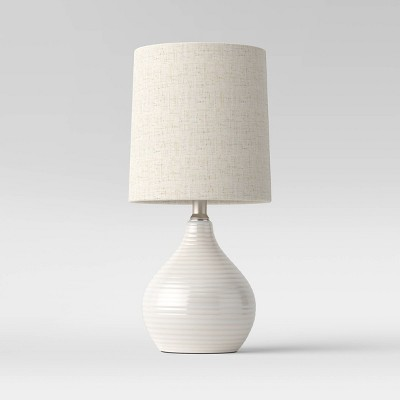 Reactive Glaze Ceramic Mini Table Lamp - Threshold™