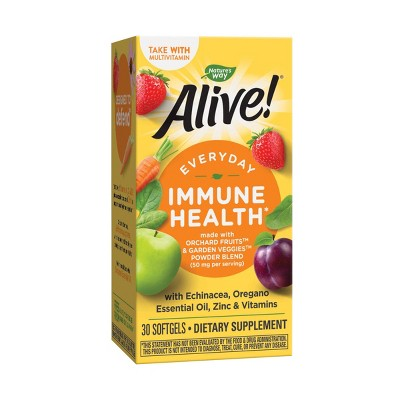 Nature's Way Alive! Everyday Immune Health Softgels - 30ct