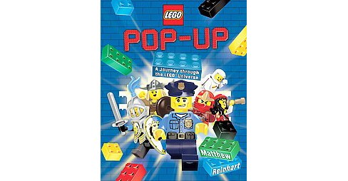 Lego Pop-Up : A Journey Through the Lego Universe (School And Library) (Matthew Reinhart) - image 1 of 1