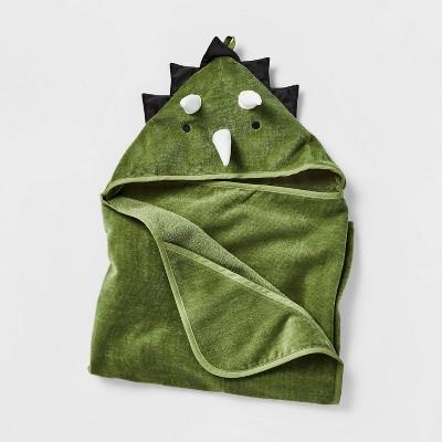 "25""x50"" Dinosaur Hooded Towel - Pillowfort™"