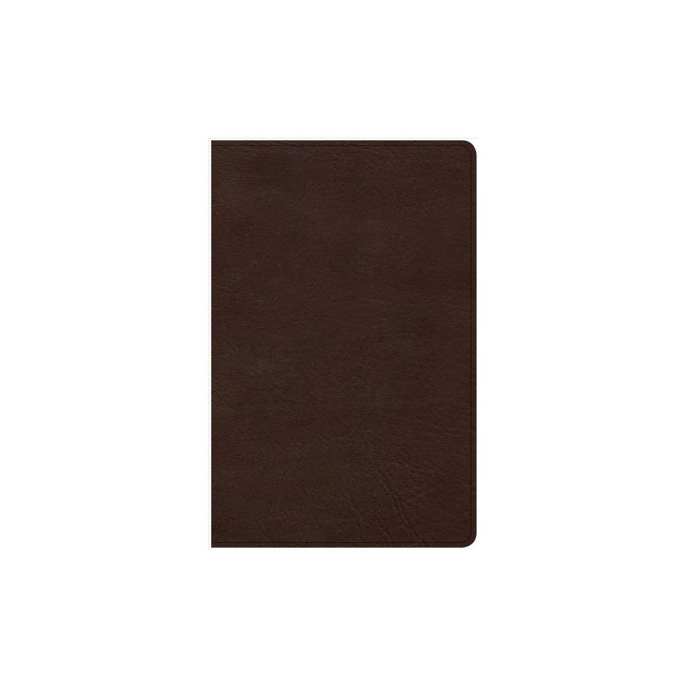 Holy Bible : Christian Standard Bible, Brown, Leathertouch, Ultrathin Bible - (Paperback)