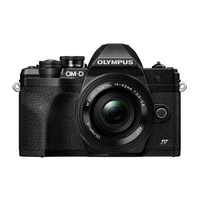 Olympus OM-D E-M10 Mark IV Camera (Black) & M.Zuiko Digital ED 14-42mm Lens Kit
