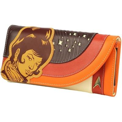 Crowded Coop, LLC Star Trek: The Original Series Uhura Retro Space Ladies Wallet