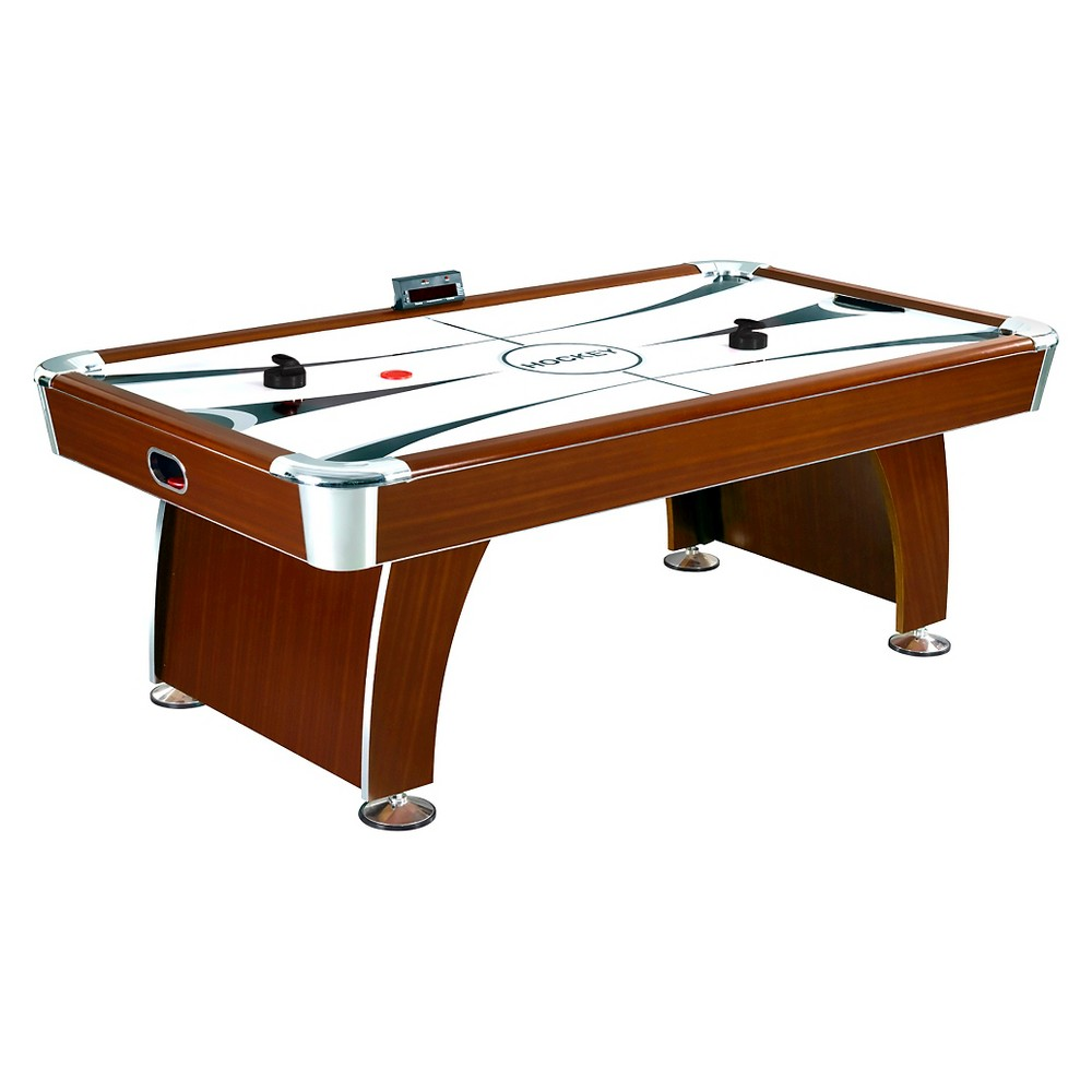 Hathaway Brentwood 7.5 Feet Air Hockey Table, Multi-Colored