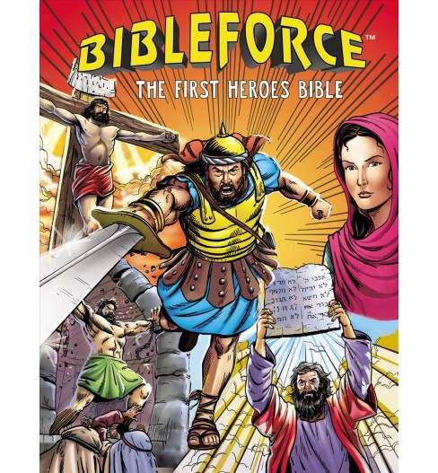 Bibleforce : The First Heroes Bible -  (Hardcover) - image 1 of 1