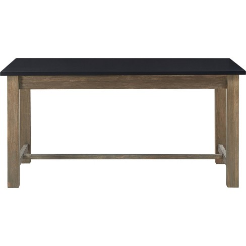 Elmhurst Dining Table Black And Weathered Gray Finch Target