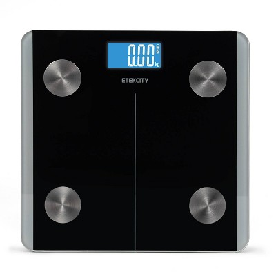 Smart Fitness Scale with Resistance Bands Black - Etekcity