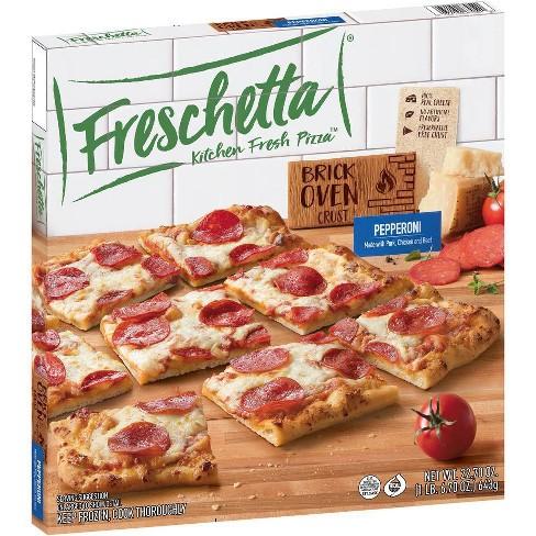 Freschetta Brick Oven Crust Pepperoni Frozen Pizza - 22.7oz - image 1 of 4