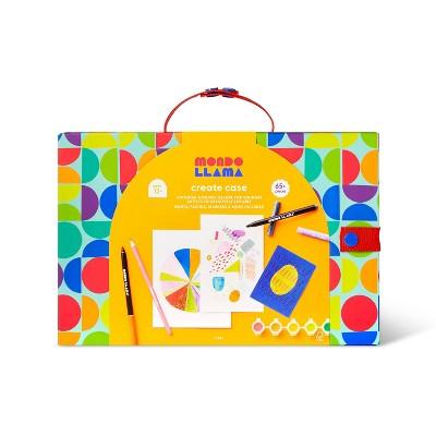 69pc Art Create Case Kit - Mondo Llama™