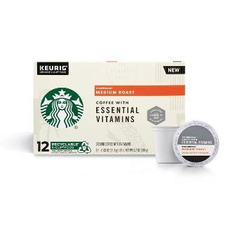 Starbucks KCup Essential Vita Medium Roast 12ct - 5.2oz