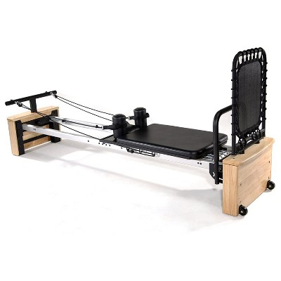 Stamina AeroPilates Pro XP557 Pilates Reformer Resistance Exercise System with Free Form Cardio Rebounder for Low Impact Home Workouts