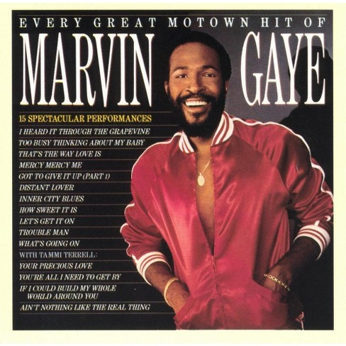 Marvin Gaye - Every Great Motown Hit of Marvin Gaye (CD) - image 1 of 3