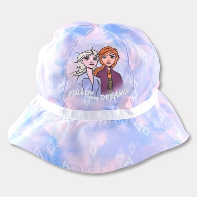 Toddler Girls' Frozen Bucket Hat - Blue