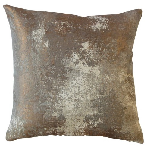 Square Throw Pillow Gold - Pillow Collection - image 1 of 2