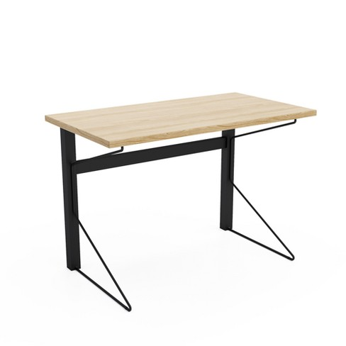 Carnegie Steel/Wood Desk - Jamesdar - image 1 of 4