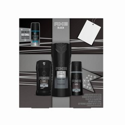 Axe Black Bath And Body Gift Set - 4pc