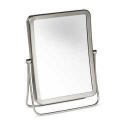 Rectangular Vanity Makeup Mirror Brushed Nickel - 88 Main