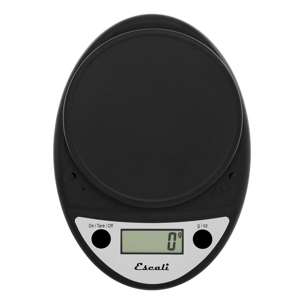 Escali Primo Digital Scale - 11lb capacity - Black