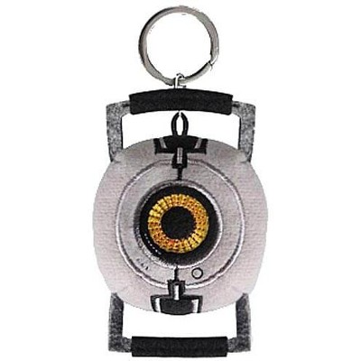 Crowded Coop, LLC Portal 2 Space Sphere Plush Keychain P277