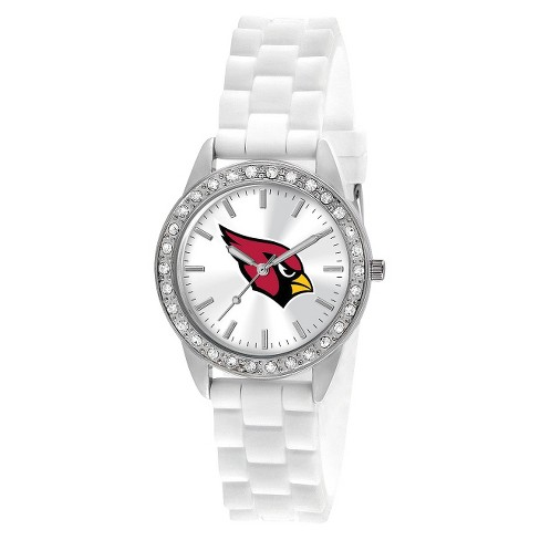 2bd2a2d7 Women's Game Time Frost Series Watch Arizona Cardinals - White : Target