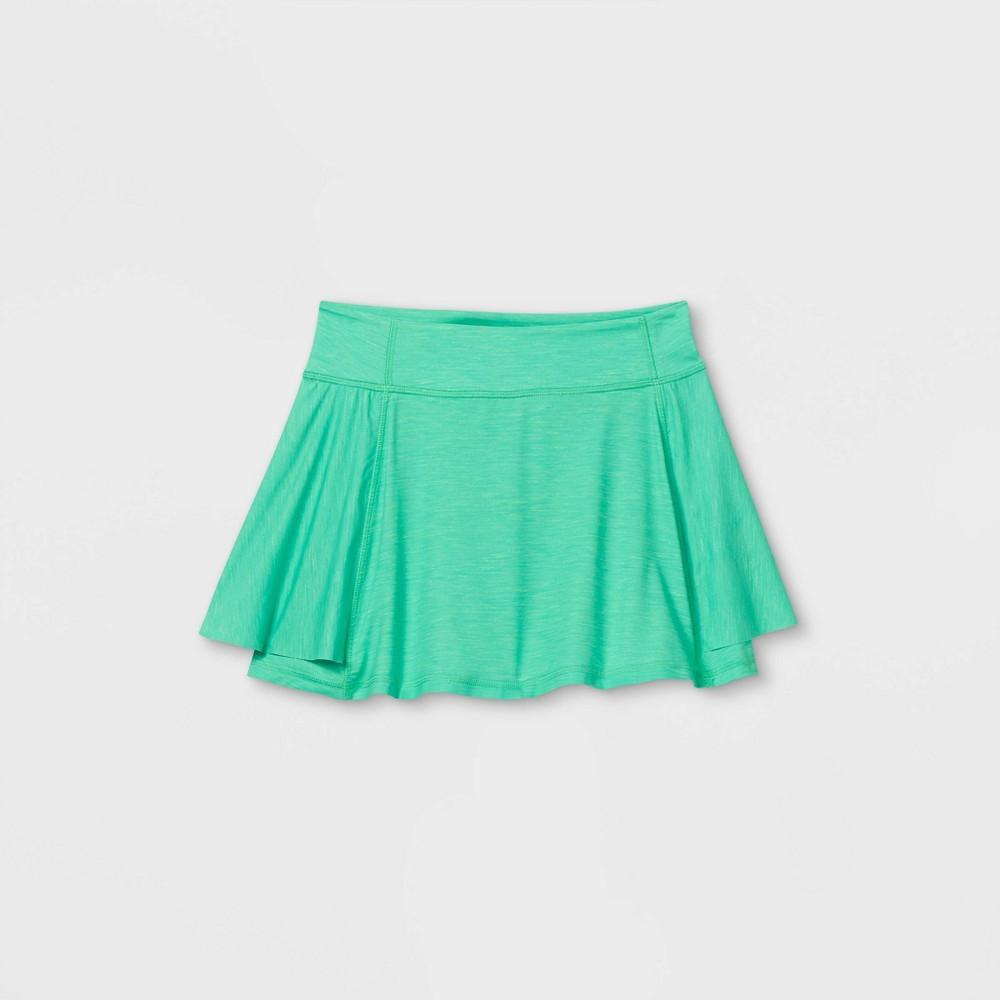 Girls 39 Knit Performance Skorts All In Motion 8482 Green L