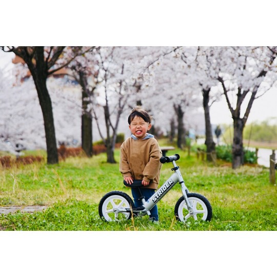 STRIDER 12 Pro Balance Bike For 18 mos. - 5 years, Kids Unisex, Silver image number null