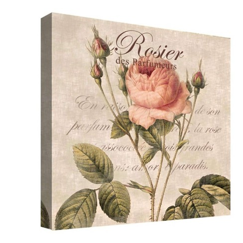 "Rosier Decorative Canvas Wall Art 16""x16"" - PTM Images - image 1 of 1"