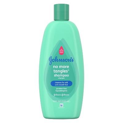 Johnson's Baby No-More-Tears Straight Hair Shampoo & Conditioner 18 fl oz