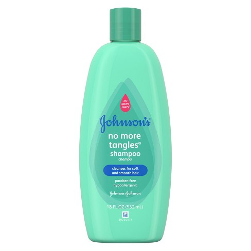 Johnson's Baby No-More-Tears Straight Hair Shampoo & Conditioner 18 fl oz - image 1 of 3