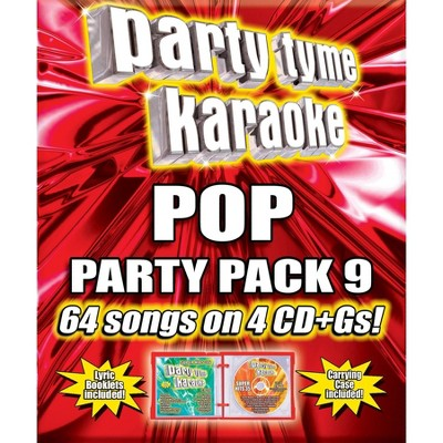 Party Tyme Karaoke - Pop Party Pack 9 (CD)