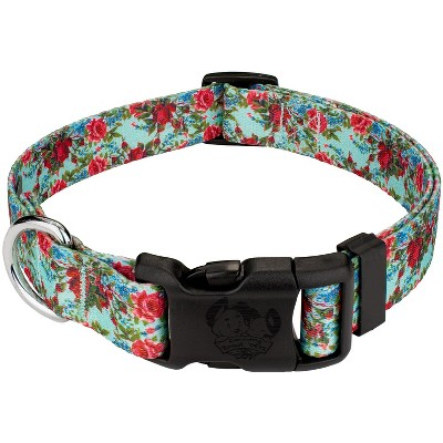 Country Brook Petz® Deluxe Vintage Roses Dog Collar - Made In The U.S.A.