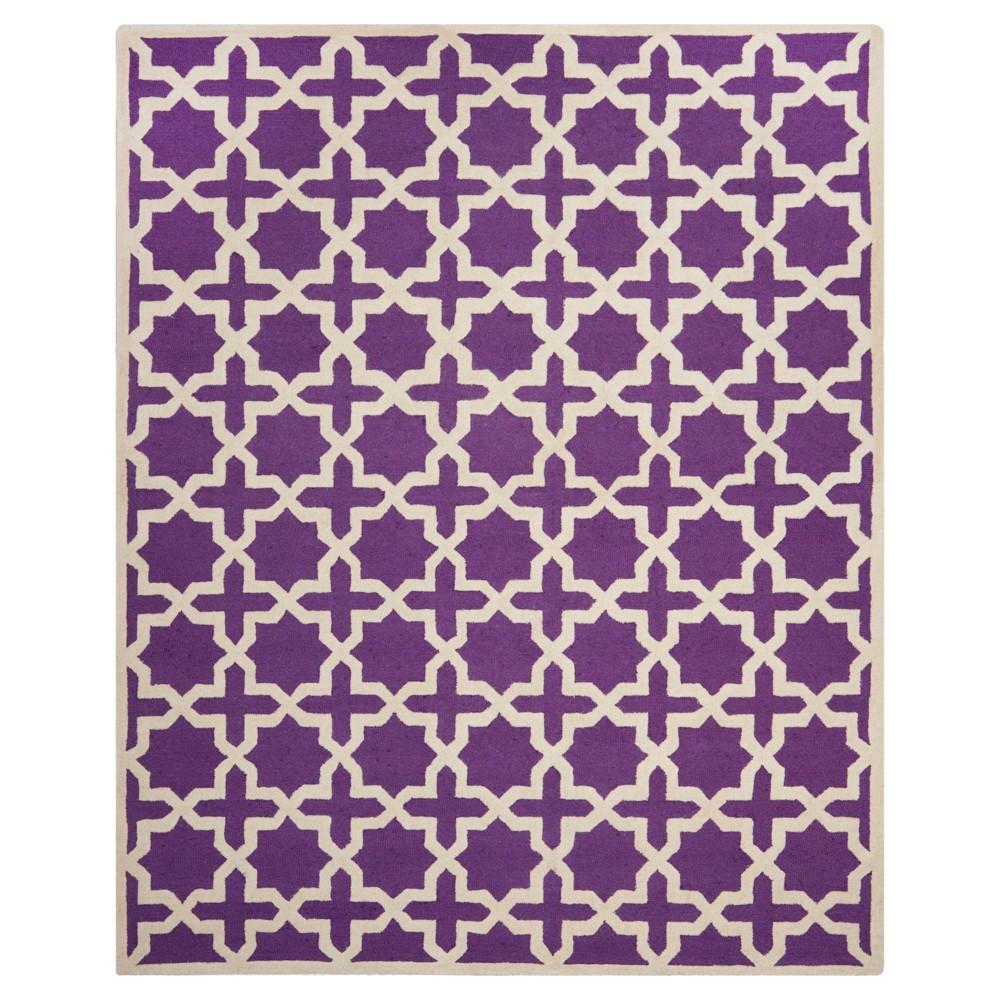 Marnie Area Rug - Purple / Ivory ( 8' X 10' ) - Safavieh, Purple/Ivory