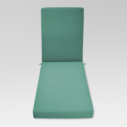 Fullerton Outdoor Chaise Lounge Cushion - Turquoise - Threshold™ - image 1 of 1