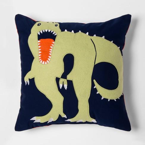 Dino Throw Pillow - Pillowfort™ - image 1 of 3
