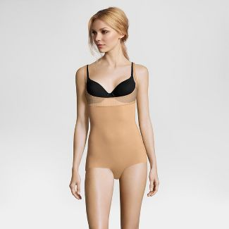 Maidenform Self Expressions Women's Stay Put Body Shapers - Nude M