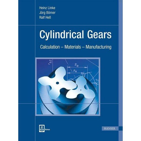 Cylindrical Gears - by  Heinz Linke (Hardcover) - image 1 of 1