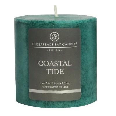 Pillar Candle Coastal Tide 3 x3  - Chesapeake Bay Candle®