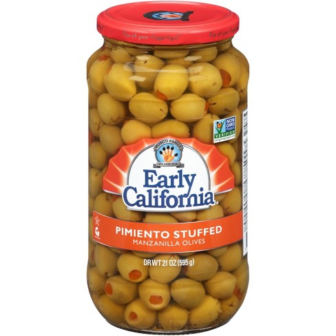 Early California Pimento Stuffed Manzanilla Olives - 21oz - image 1 of 1