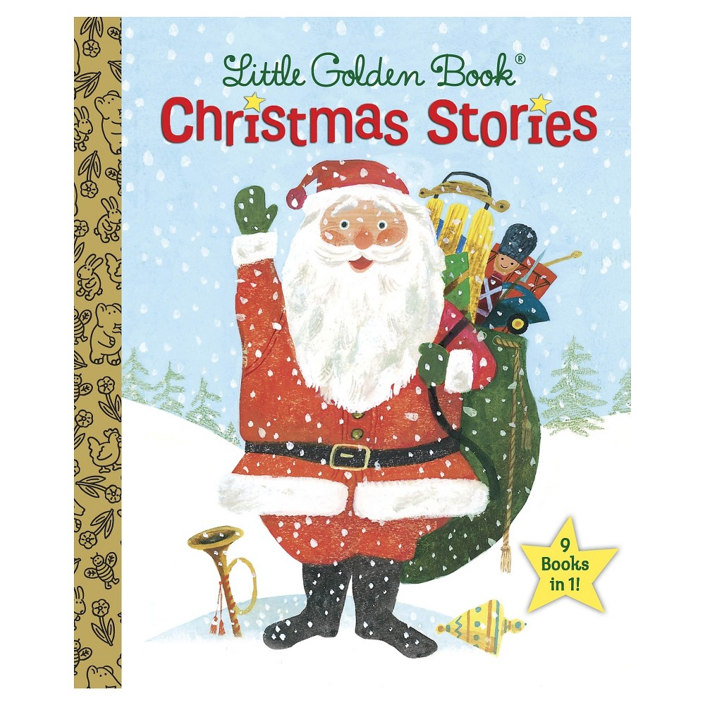 Little Golden Book Christmas Stories (Haredcover) by Various