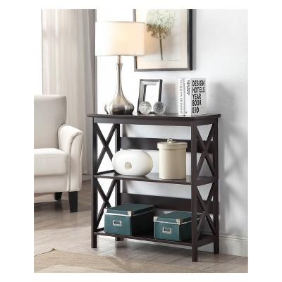 """32.5"""" Oxford 3 Tier Bookcase White - Breighton Home : Target"""