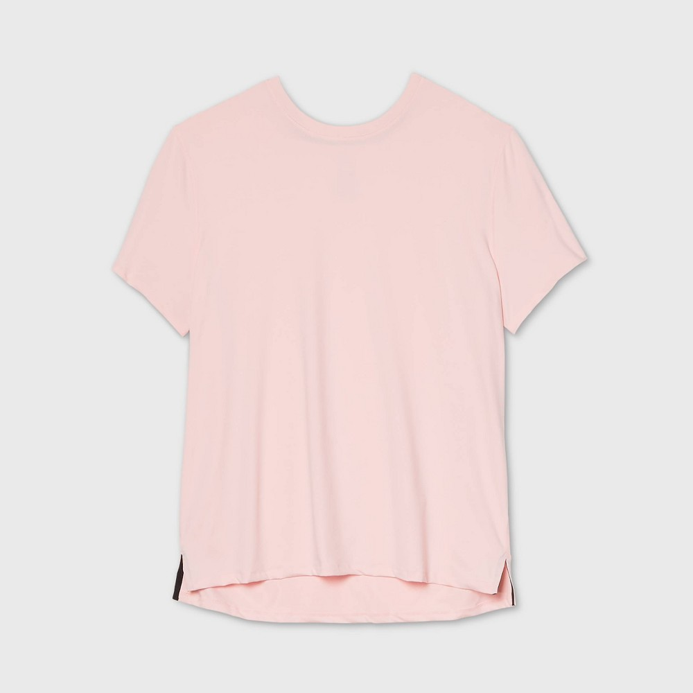 Mens Short Sleeve Performance T-Shirt - All in Motion Pink XXL