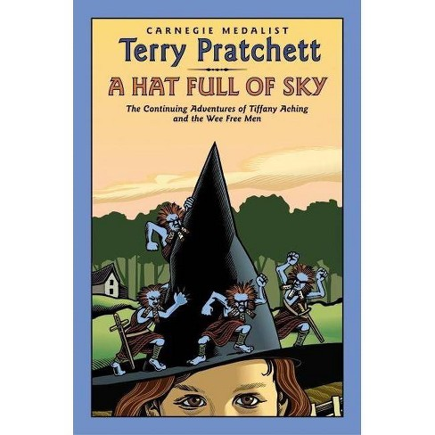 A Hat Full of Sky - (Tiffany Aching) by  Terry Pratchett (Hardcover) - image 1 of 1