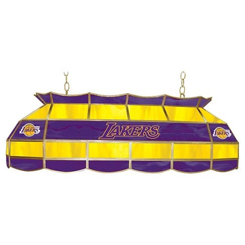 e49686631c4 Los Angeles Lakers Tiffany Style Lamp - 40 inch   Target