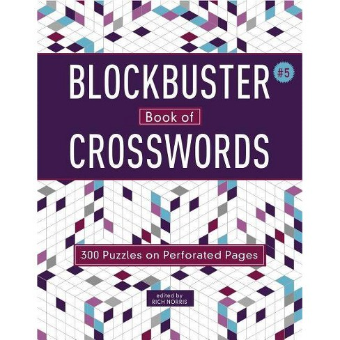 Blockbuster Book of Crosswords 5, Volume 5 - (Blockbuster Crosswords) by  Rich Norris (Paperback) - image 1 of 1