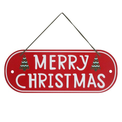 Metal Merry Christmas Wall Sign - Wondershop™ - image 1 of 1