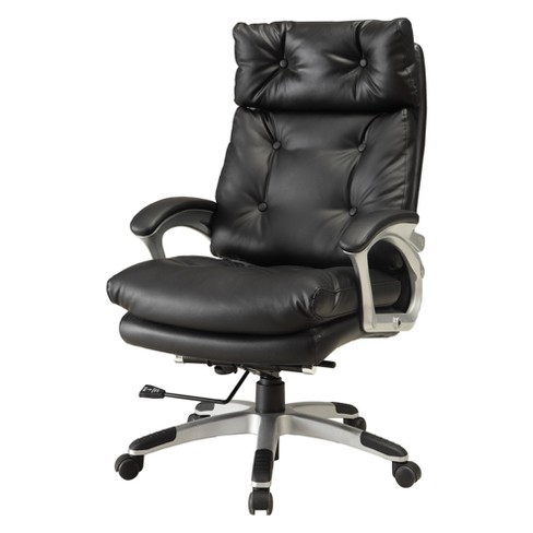 Iohomes Mager Contemporary Leatherette Office Chair - HOMES: Inside + Out - image 1 of 2